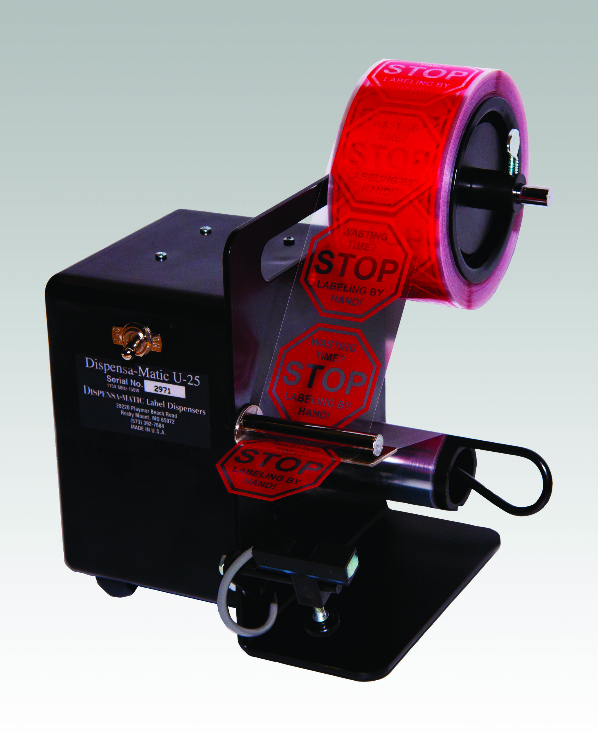 Label Dispenser Dispensateur Dms Marking Coding